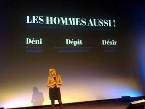 """Brigitte Grésy à Lyon le 22 novembre 2012 à Lyon """"Le sexisme, c'est pas mon genre"""""""