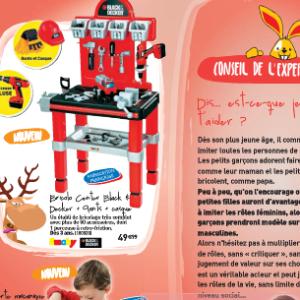 Catalogue Joupi 2012 : les clichés fournis avec les jouets