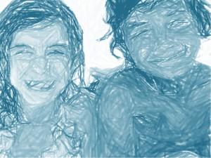 Enfants-bleu