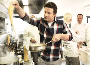 Jamie Oliver cooking. By Scandic Hotel (CC. BY 3.0)