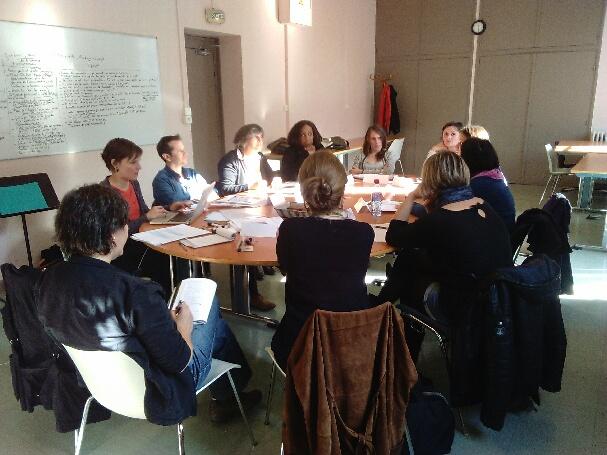 Echange de pratiques lors de la rencontredu 10 décembre 2015