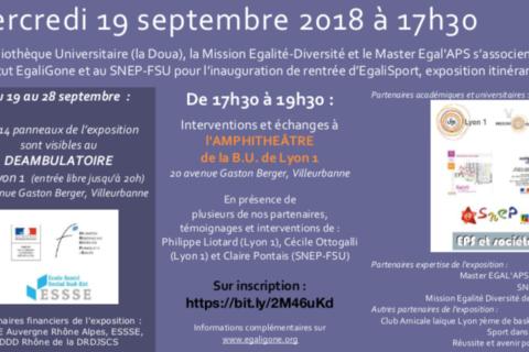Infos septembre 2018