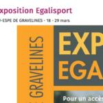 EgaliSport :  l'Ecole de Professorat de Gravelines accueille notre exposition