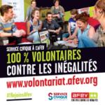 Sensibilisation de volontaires à l'AFEV